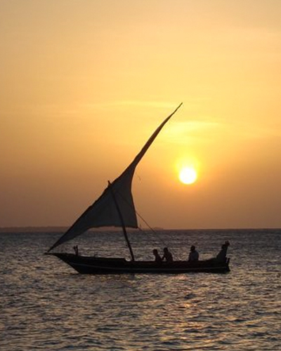 Sunset Cruise in Zanzibar